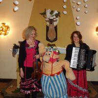 2014 12 12 Weihnachtsfeier GA stehaus der Polizei mit Obelix-
