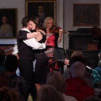 2014 06 20 Schwedt Mittsommernacht Duo Muzet Royal mit Tanzpaar-