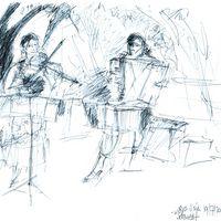 2014 07 19 Schwedt Muzet Royal Cora Vries Skizze -