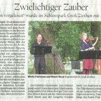 2008 05 27 pnn Urania Lesung Schloss Ziethen