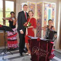 09-08-15 Trauunszeremonie im Maurischen Kabinett des Belvedere Pfingstberg Potsdam