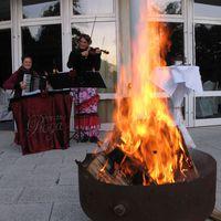 09-10-09 Empfang an der Feuerschale Motzen-
