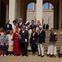 06-07 Hochzeit auf dem Belvedere Pfingstberg Potsdam: festliche Musik zur Trauungszeremonie im Maurischen Kabinett im Sommer 2006