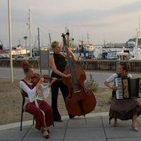 05-08 Konzert zum Open Air Kino im Hafen von Sassnitz (Rügen), Sommer 2005