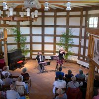 2018 05 05 Konzert Fachwerkkirche Tuchen Duo Muzet Royal-