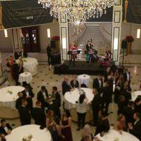 2018 12 22 Empfang im Maritim Hotel Berlin Muzet Royal - Gäste unscharf farbk-