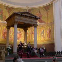 2019 03 16 Trio Muzet Royal Nikolaikirche Potsdam Gedeckter Tisch-