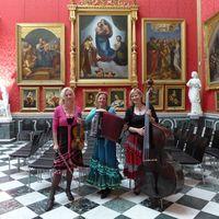 2019 06 16 Trio Muzet Royal Fahrradkonzert Orangerie Potsdam im Raffael-Saal-